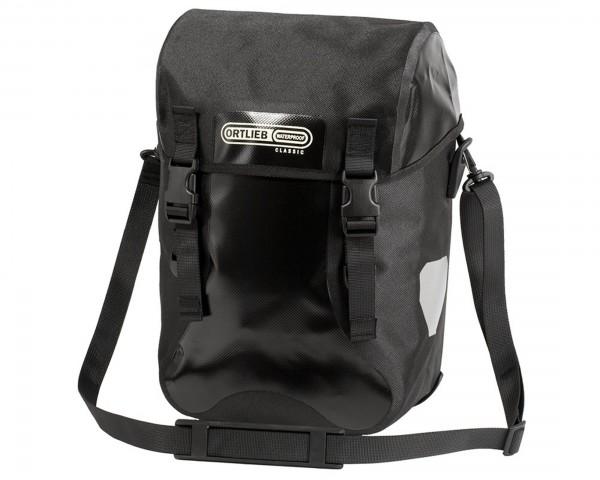Ortlieb Sport-Packer Classic QL2.1 wasserdichte Fahrrad-Touren Taschen (Paar) | schwarz