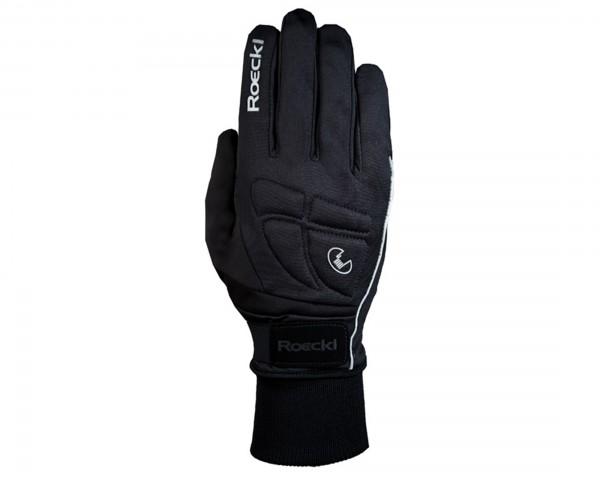 ROECKL Rosello Langfinger Handschuhe WINDSTOPPER | Schwarz