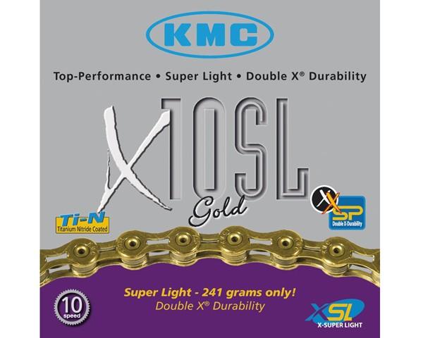 KMC X-10-SL Gold | 10-fach Schaltungskette