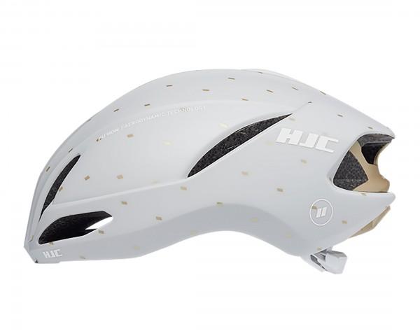 HJC Furion 2.0 Road Helmet   matt off white-gold