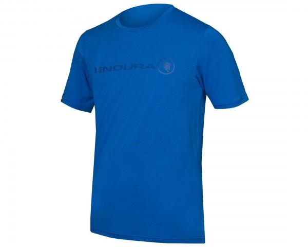 Endura SingleTrack Merino T-Shirt | azurblau