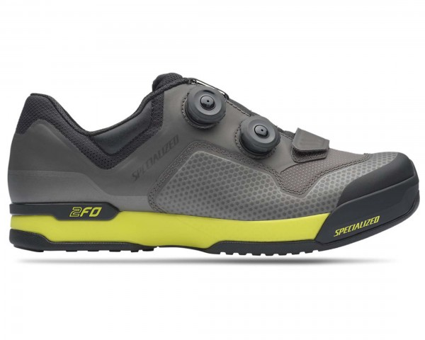 Specialized 2FO Cliplite MTB shoes | charcoal-ion