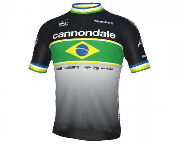 Cannondale CFR Avancini Team Replica Jersey short sleeve | black