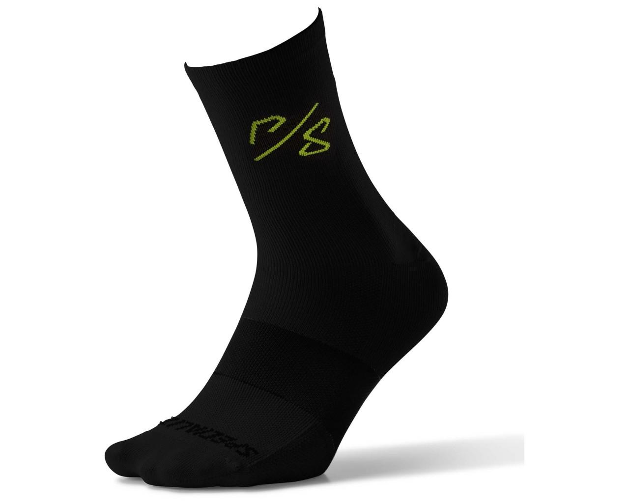 Specialized Soft Air Tall Socks Sagan Deconconstrustivism Green | black
