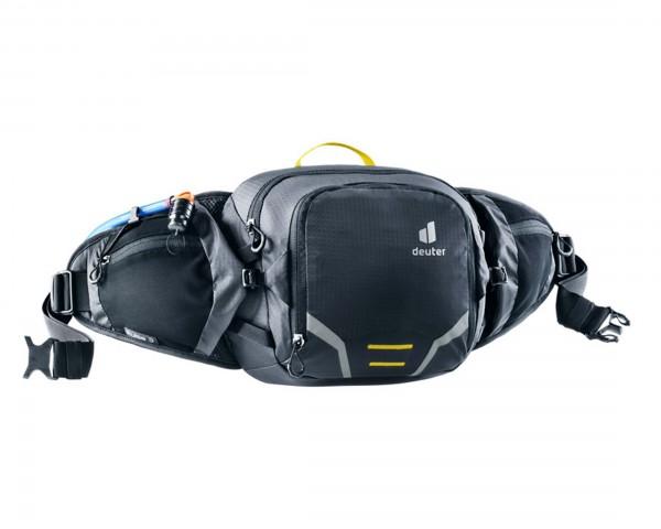 Deuter Pulse 3 Hip Belt Bottle Bag | black