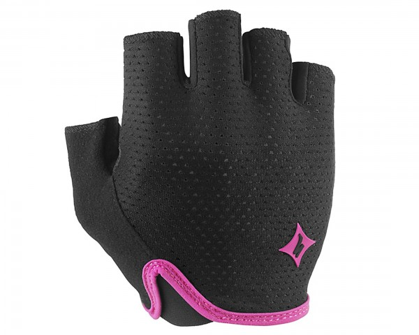 Specialized Womens Grail short finger Gloves | black-pink