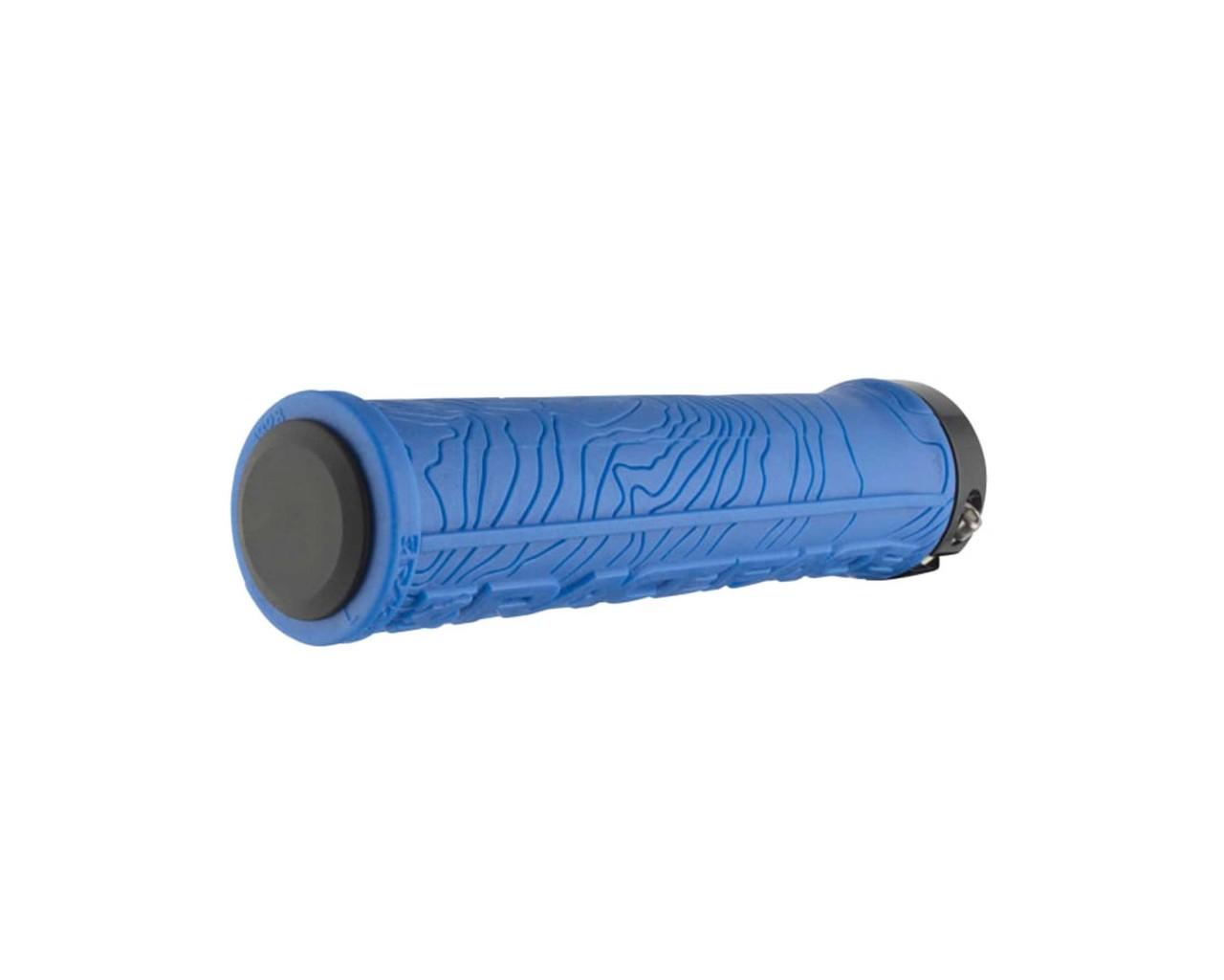 Race Face Half Nelson Lock On Griffe (Paar)   blau