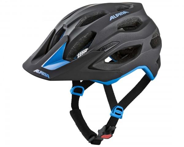 Alpina Carapax 2.0 MTB Bike Helmet | black-blue
