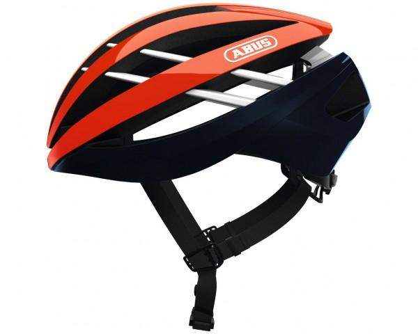Abus Aventor Rennrad Fahrradhelm | shrimp orange
