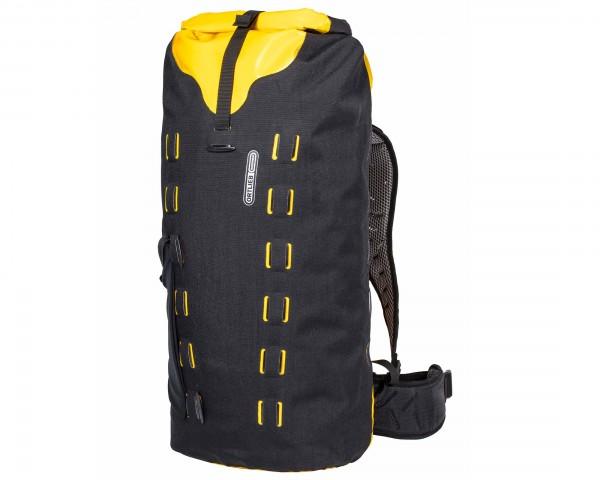 Ortlieb Gear-Pack 40 liter waterproof dry bag/backpack | black-sunyellow