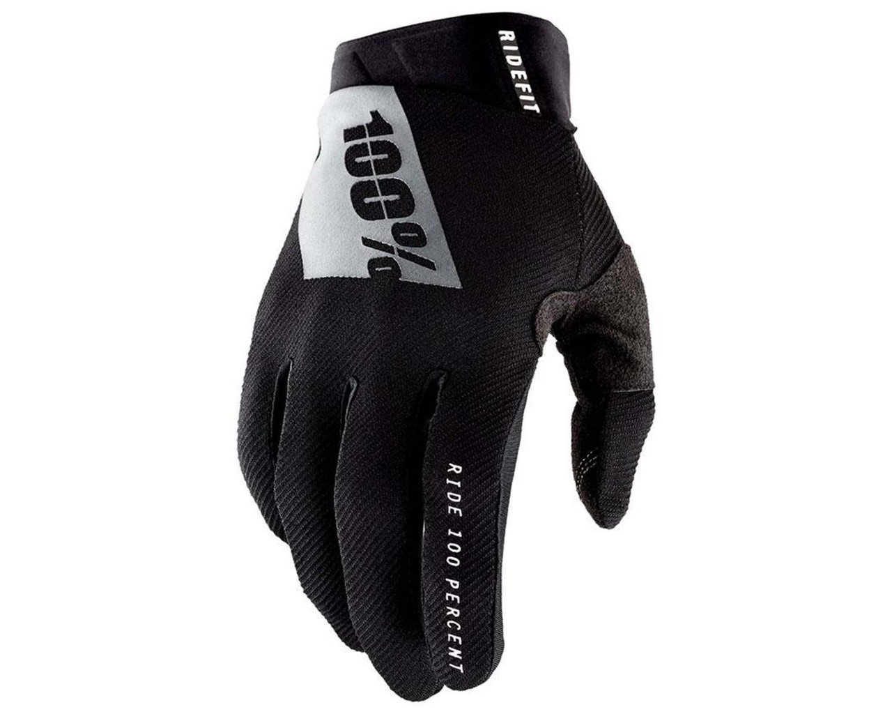 100% Ridefit Gloves (SP21)   black