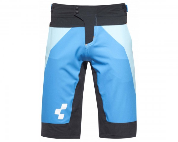Cube Action Team Shorts | blue-white-black-red