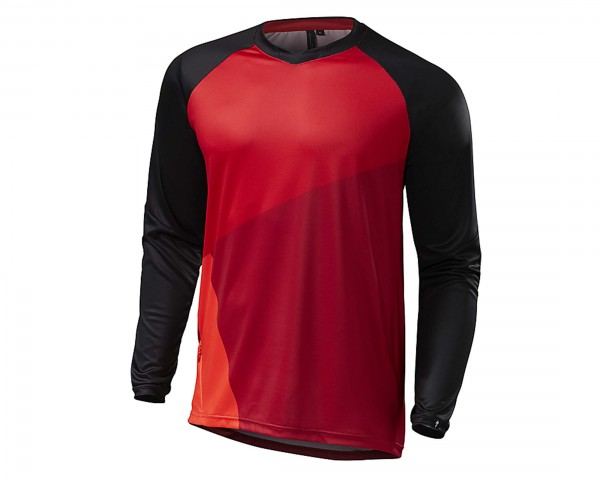 Specialized Demo Pro Jersey Long sleeve   red-black