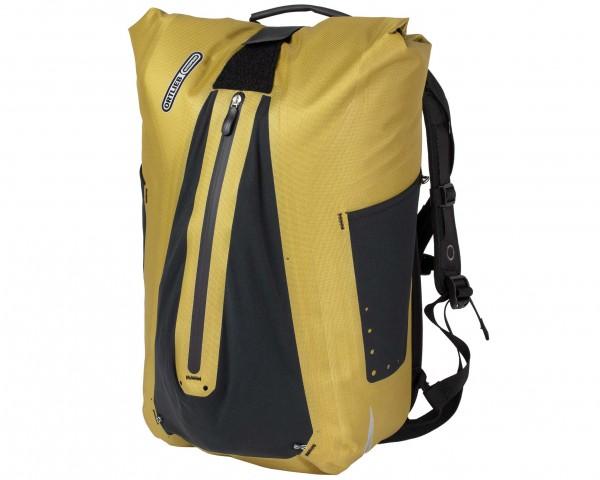 Ortlieb Vario QL3.1 wasserdichte Fahrrad-Tasche / Rucksack (Einzeltasche) PVC-frei | mustard
