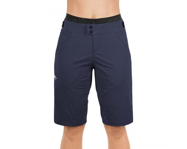 Cube Teamline Damen Baggy Shorts inkl. Innenhose | blue