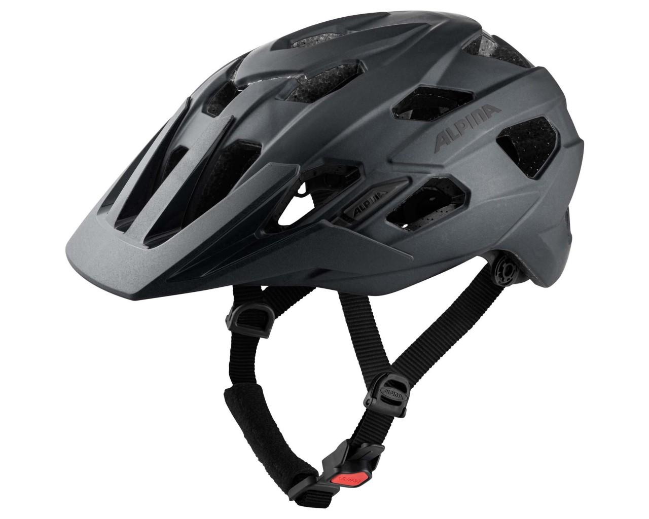 Alpina Anzana - MTB Fahrradhelm | black matt
