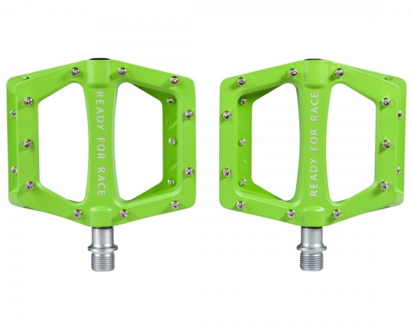Cube Pedals Flat CMPT | green