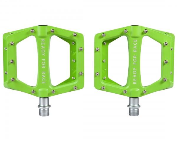 Cube RFR Pedale Flat CMPT | green