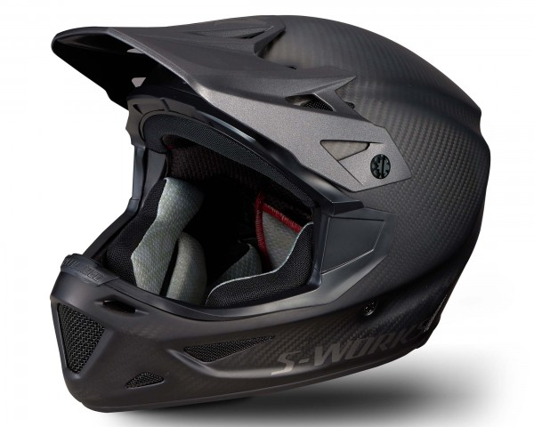 Specialized S-Works Dissident with ANGi Fullface Helmet | matte raw carbon