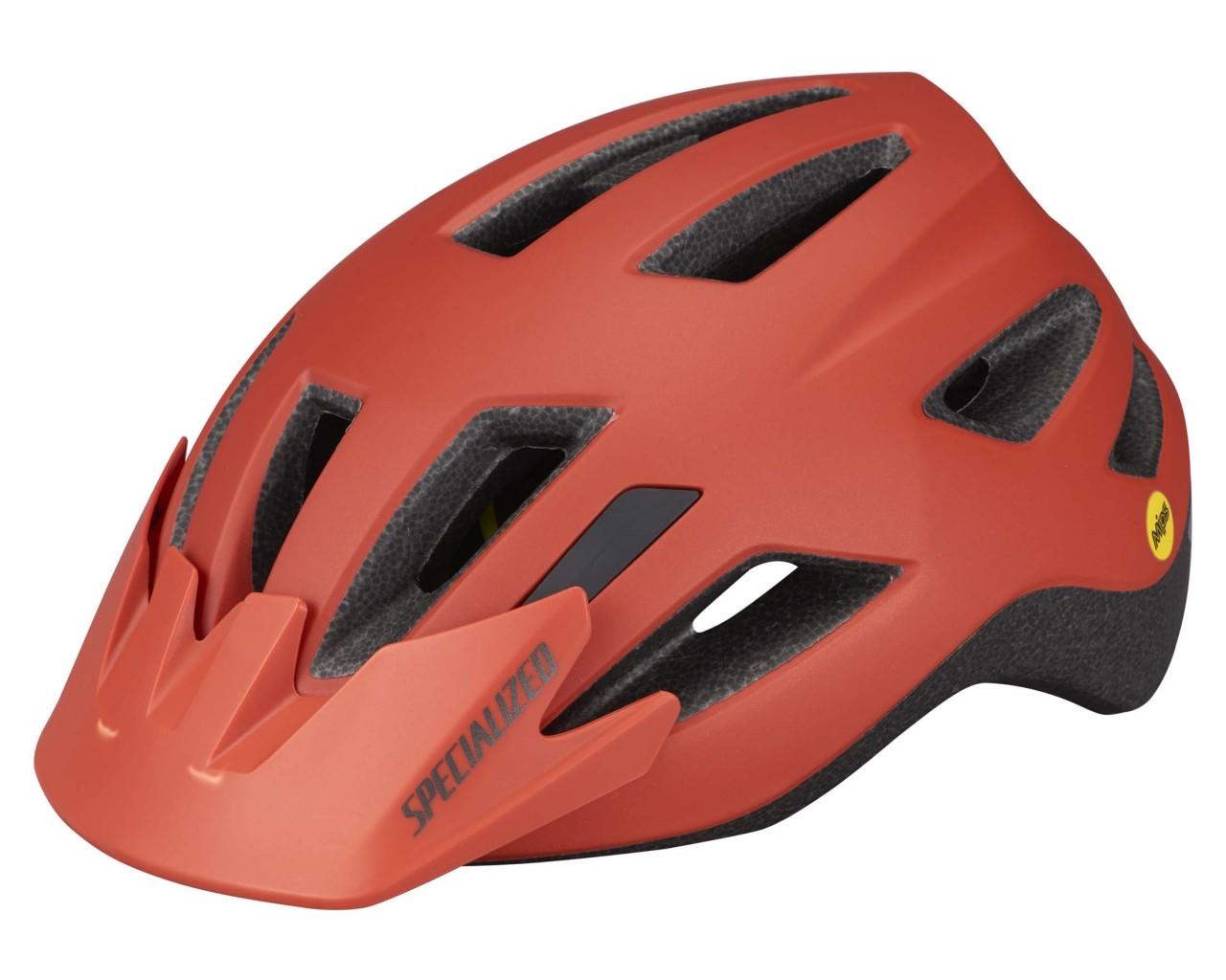 Specialized Shuffle Youth LED SB Helmet MIPS | satin redwood