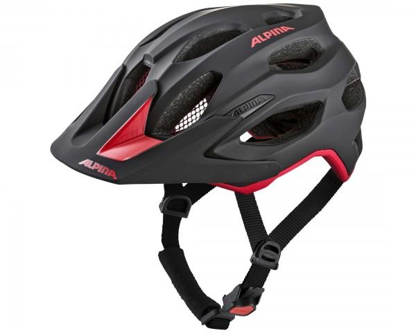 Alpina Carapax 2.0 MTB Bike Helmet | black-red