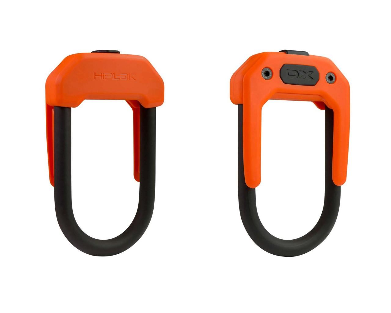 Hiplok DX Wearable D Lock | orange