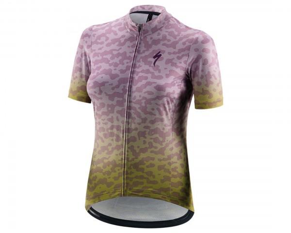 Specialized RBX Comp Terrain Women Jersey Short Sleeve | hyper green-dusty lilac