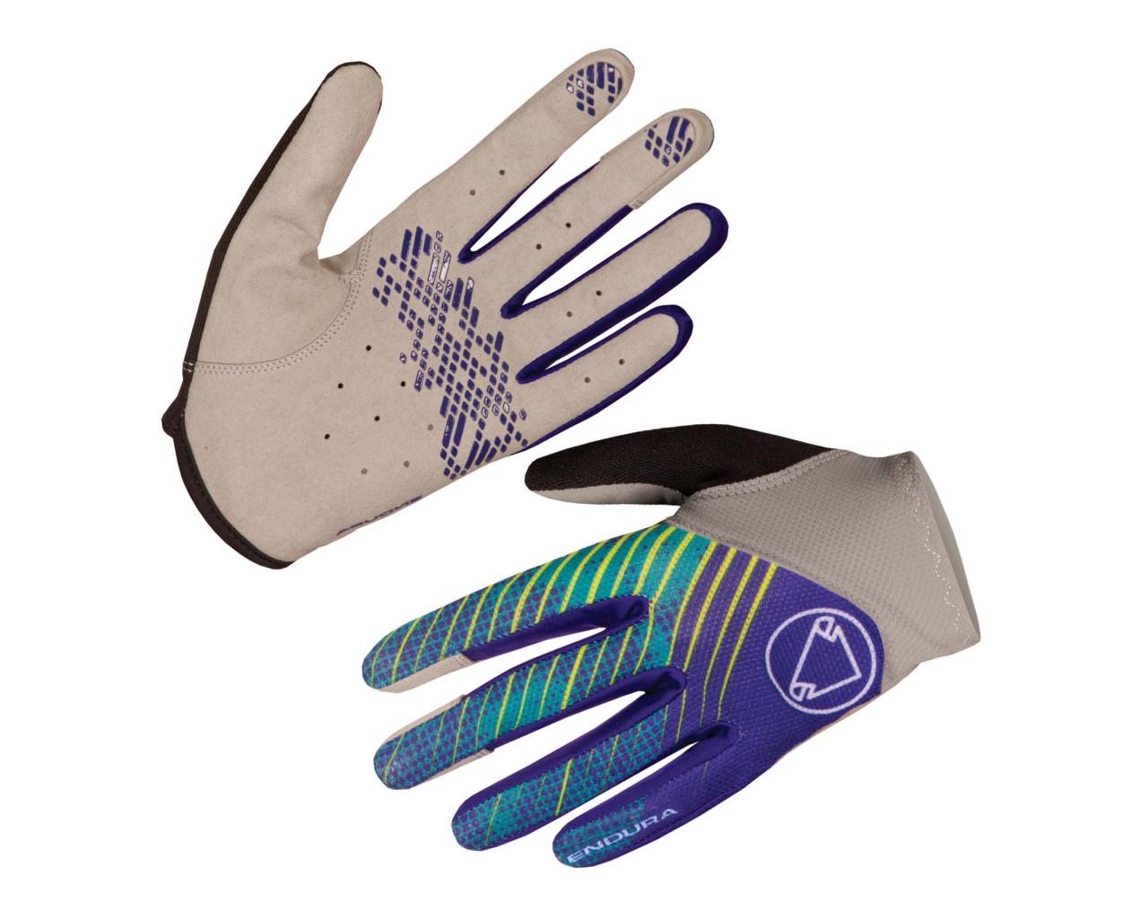 Endura Womens Hummvee Lite Glove long fingers   cobalt blue