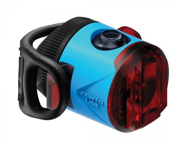 Lezyne LED Femto Drive StVZO Akku Rücklicht | blau