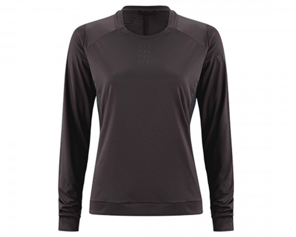 Cube All Mountain WS Rundhalstrikot langarm | black