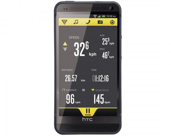 Topeak RideCase für HTC One ohne Halter | schwarz