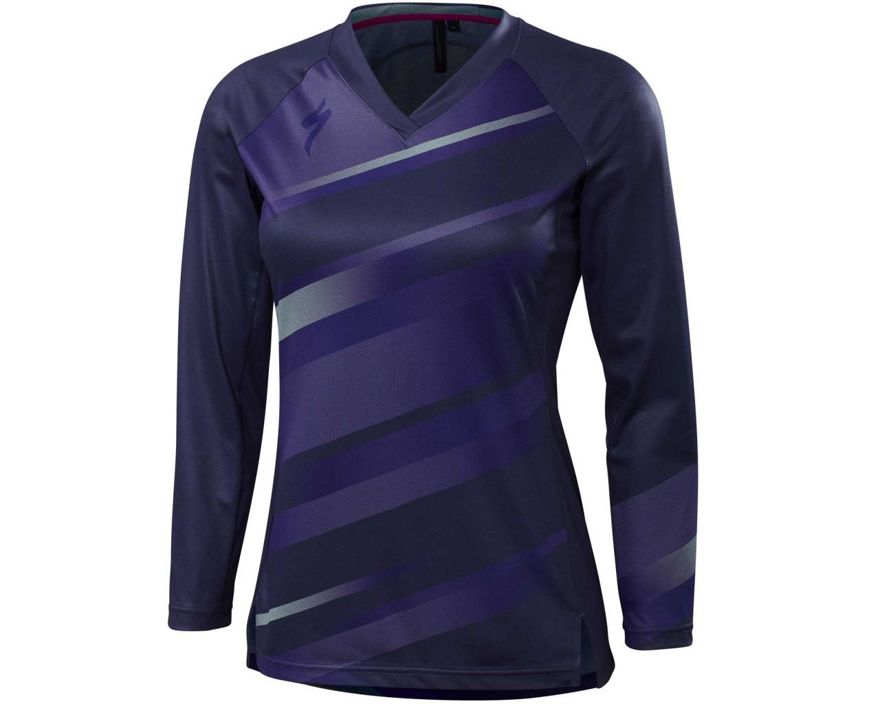 Specialized Womens Andorra jersey long sleeve   deep indigo