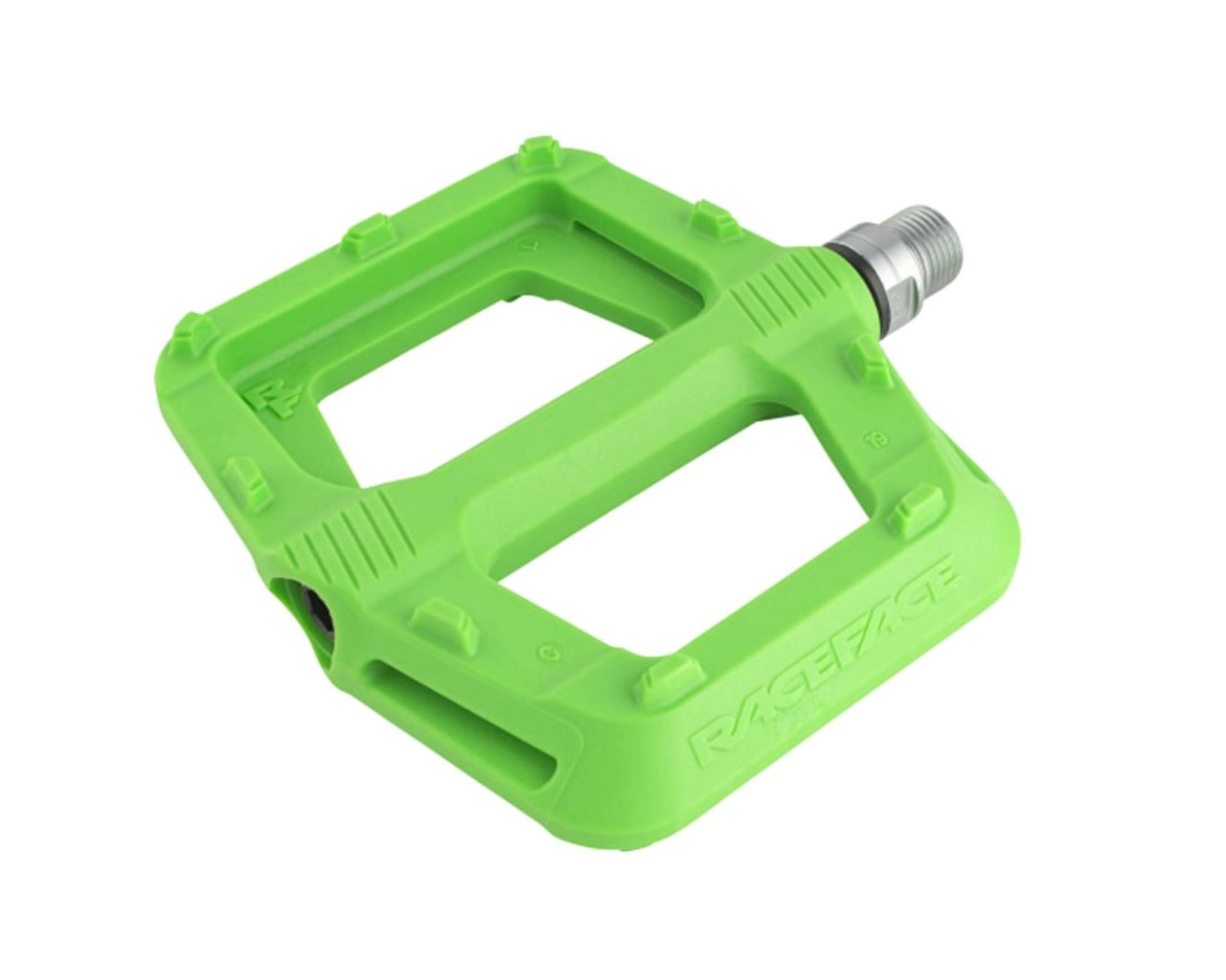 Race Face Ride Composite Platform Pedals (Pair) | green