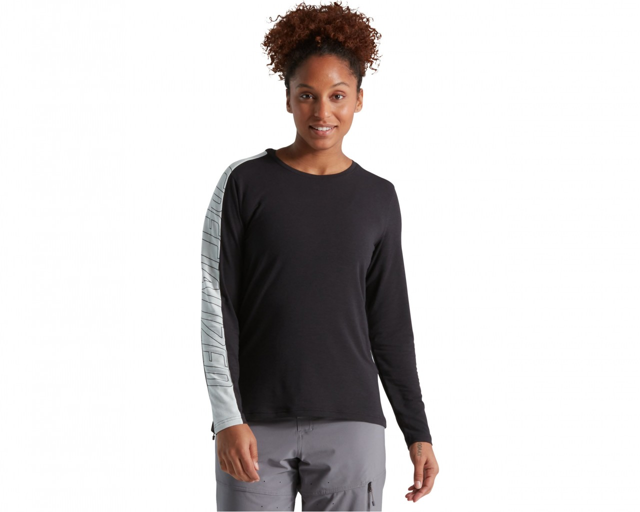 Specialized Trail Women Jersey longsleeve   black