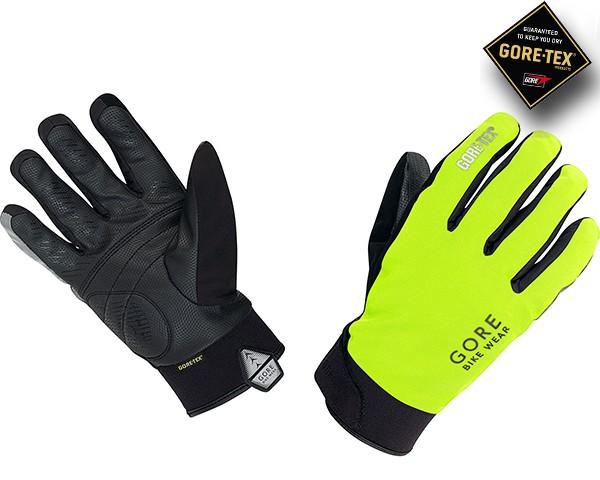 Gore Bike Wear COUNTDOWN GORE-TEX Handschuhe | neon gelb/schwarz