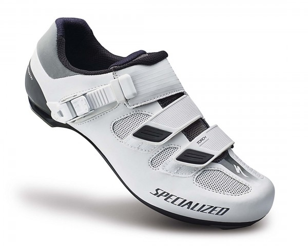 Specialized Womens Torch Road Bike Shoes   white