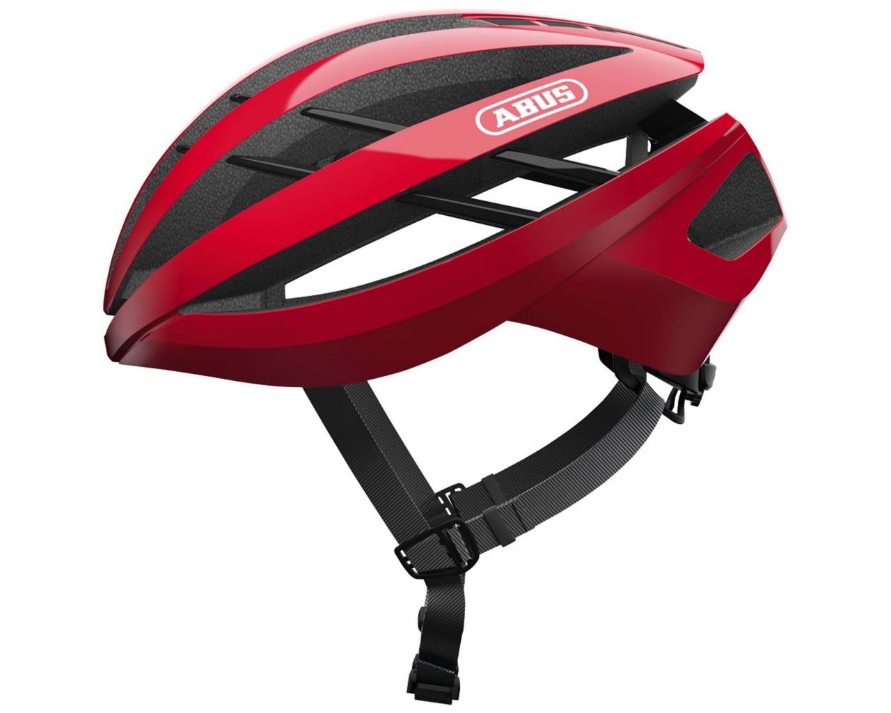 Abus Aventor Rennrad Fahrradhelm | racing red