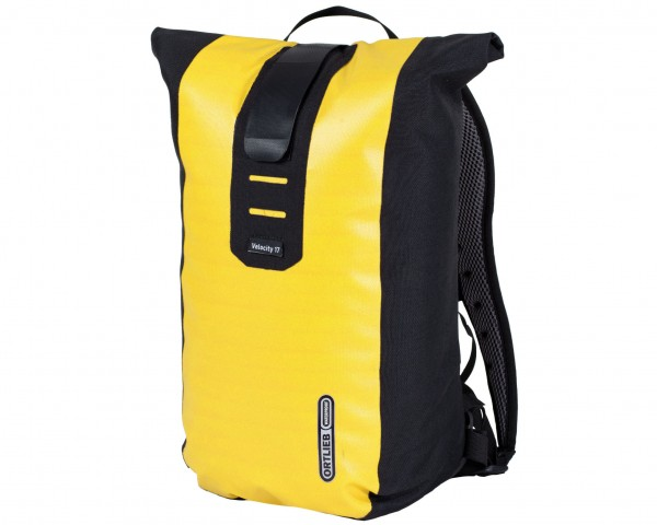 Ortlieb Velocity 17 litres waterproof Bike Backpack | yellow-black