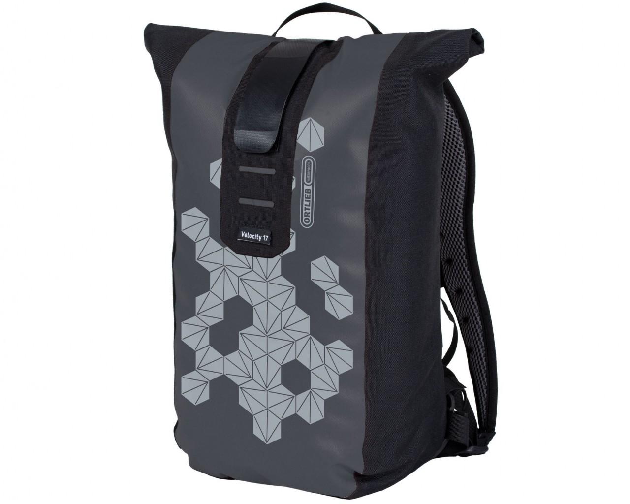 Ortlieb Velocity Design 17 litres waterproof Bike Backpack | prism