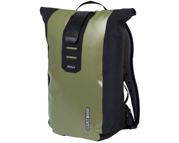 Ortlieb Velocity 17 litres waterproof Bike Backpack | olive-black