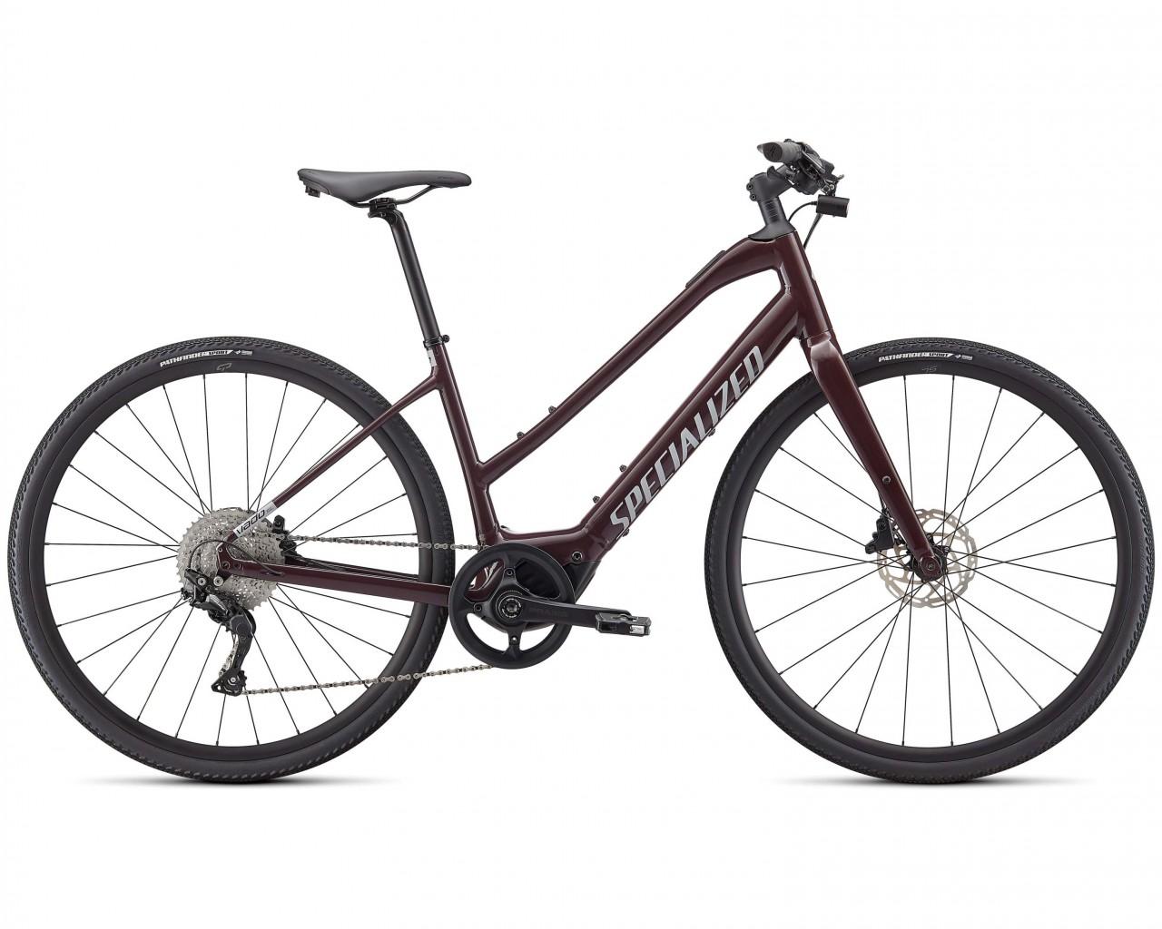 Specialized Vado SL 4.0 Step-Through - Elektro Trapez Trekking Bike 2021 | cast umber-silver reflect