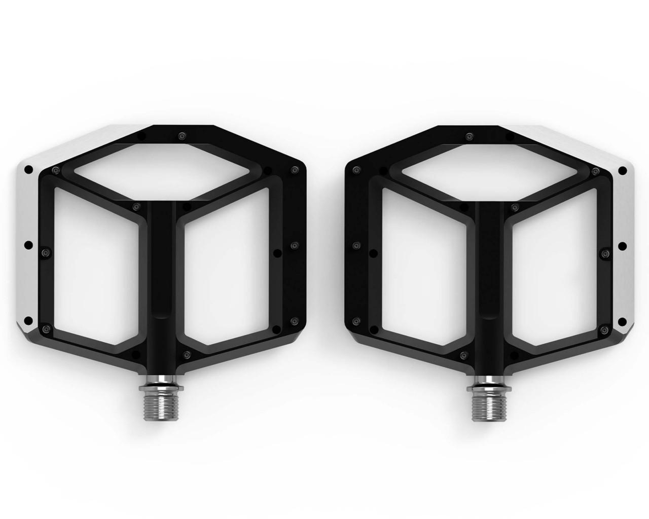 Cube ACID Pedale FLAT A2-IB (paar) | schwarz