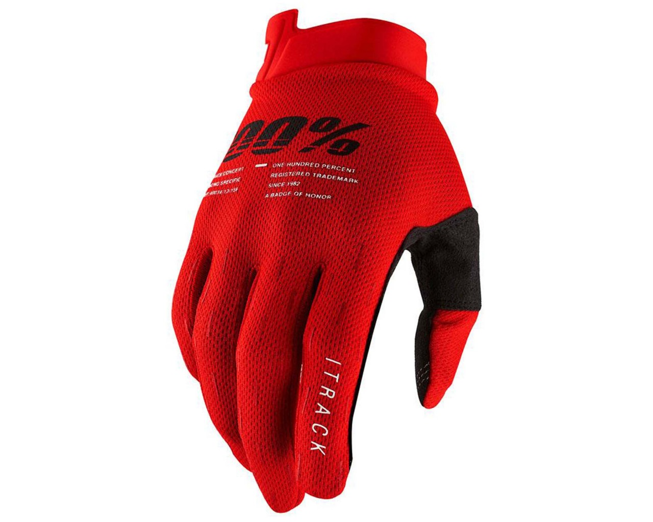 100% iTrack Handschuhe (SP21) | red