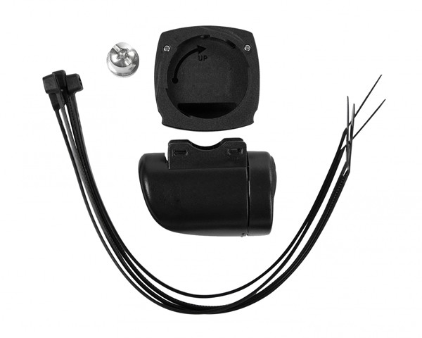 Cube Handlebar Bracket Set with Transmitter | black