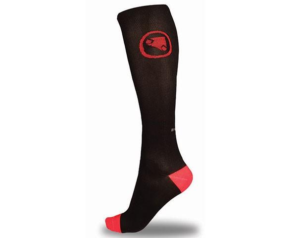 Endura Compression Socken 2 Paar | Schwarz