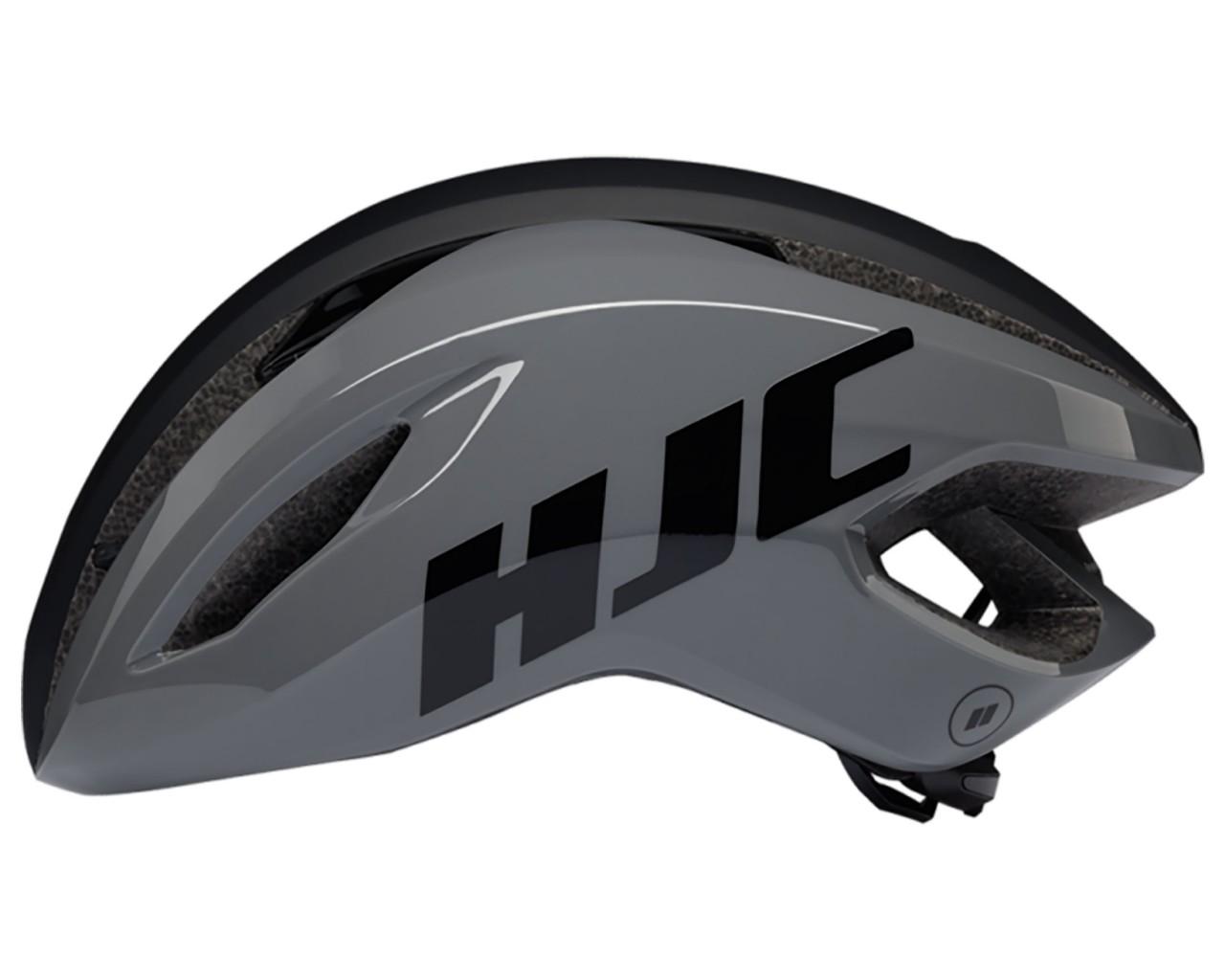 HJC Valeco Rennrad Helm | matt gloss grey black