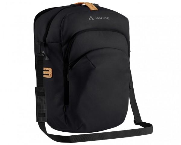 Vaude eBack Single 28 litres Rack bag for e-bikes | black