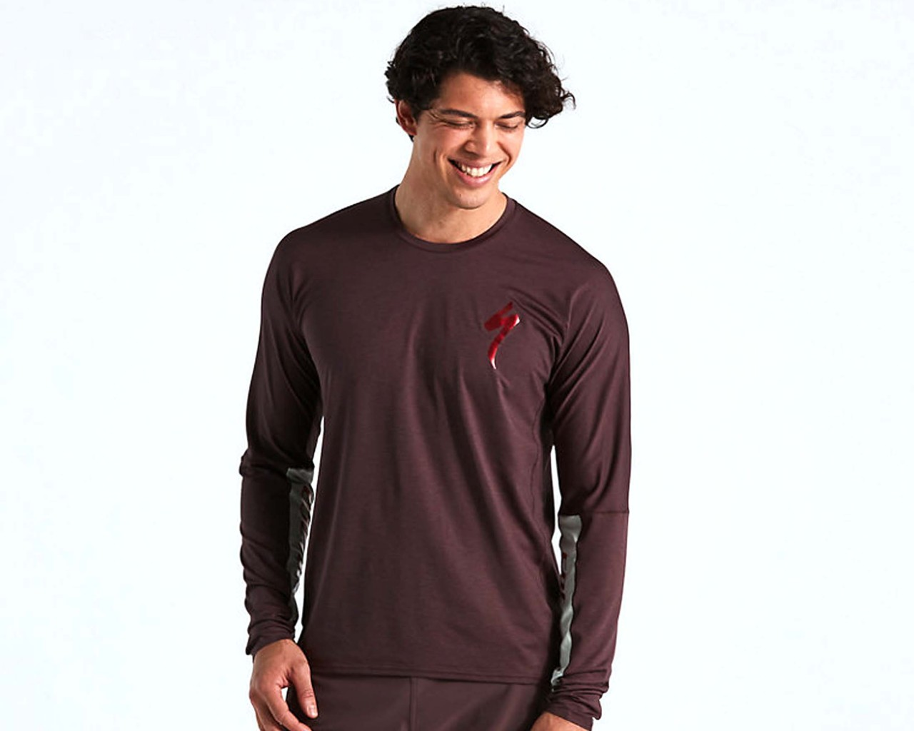 Specialized Trail Air Trikot langarm | cast umber