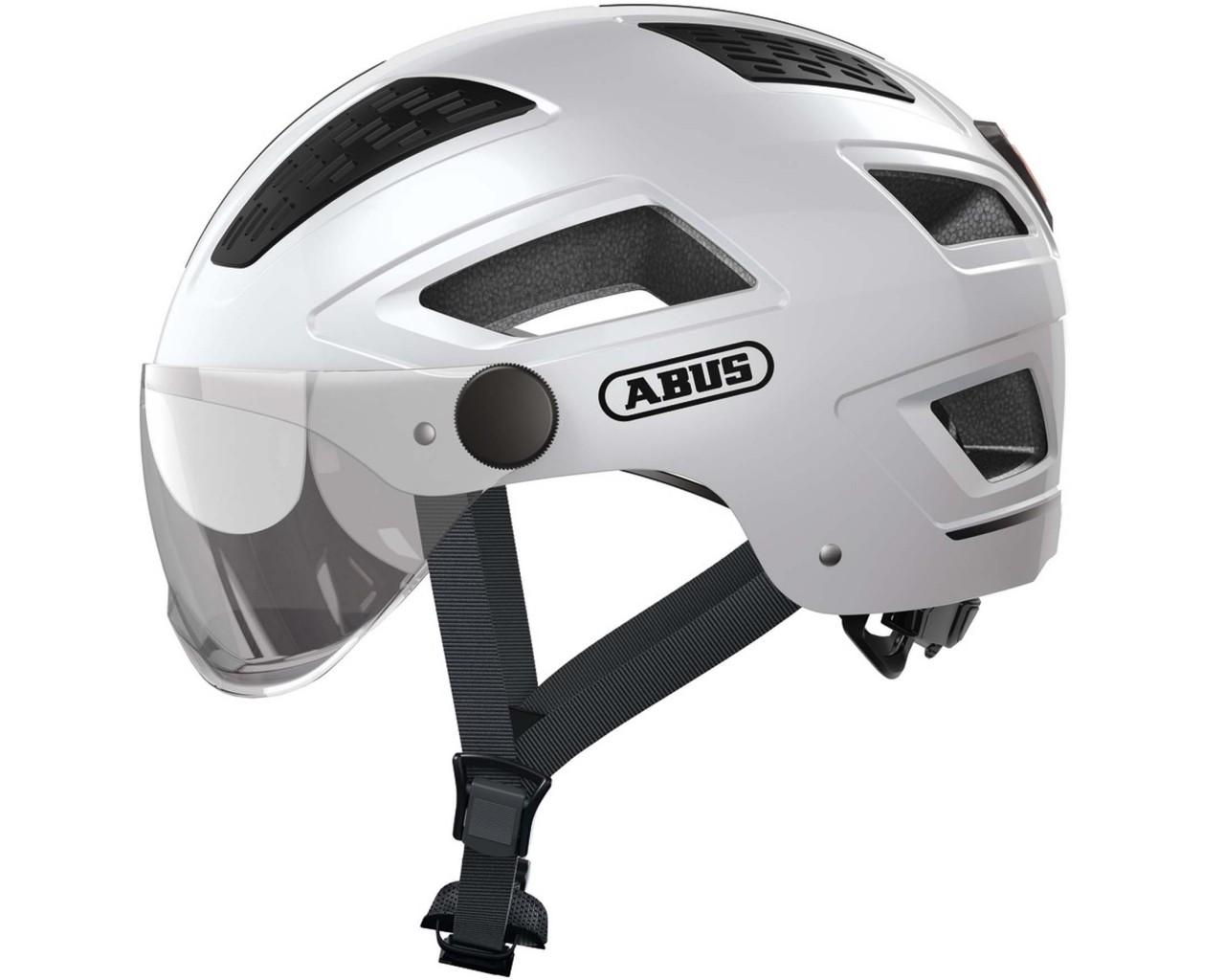 Abus Hyban 2.0 ACE Bike Helmet   polar white