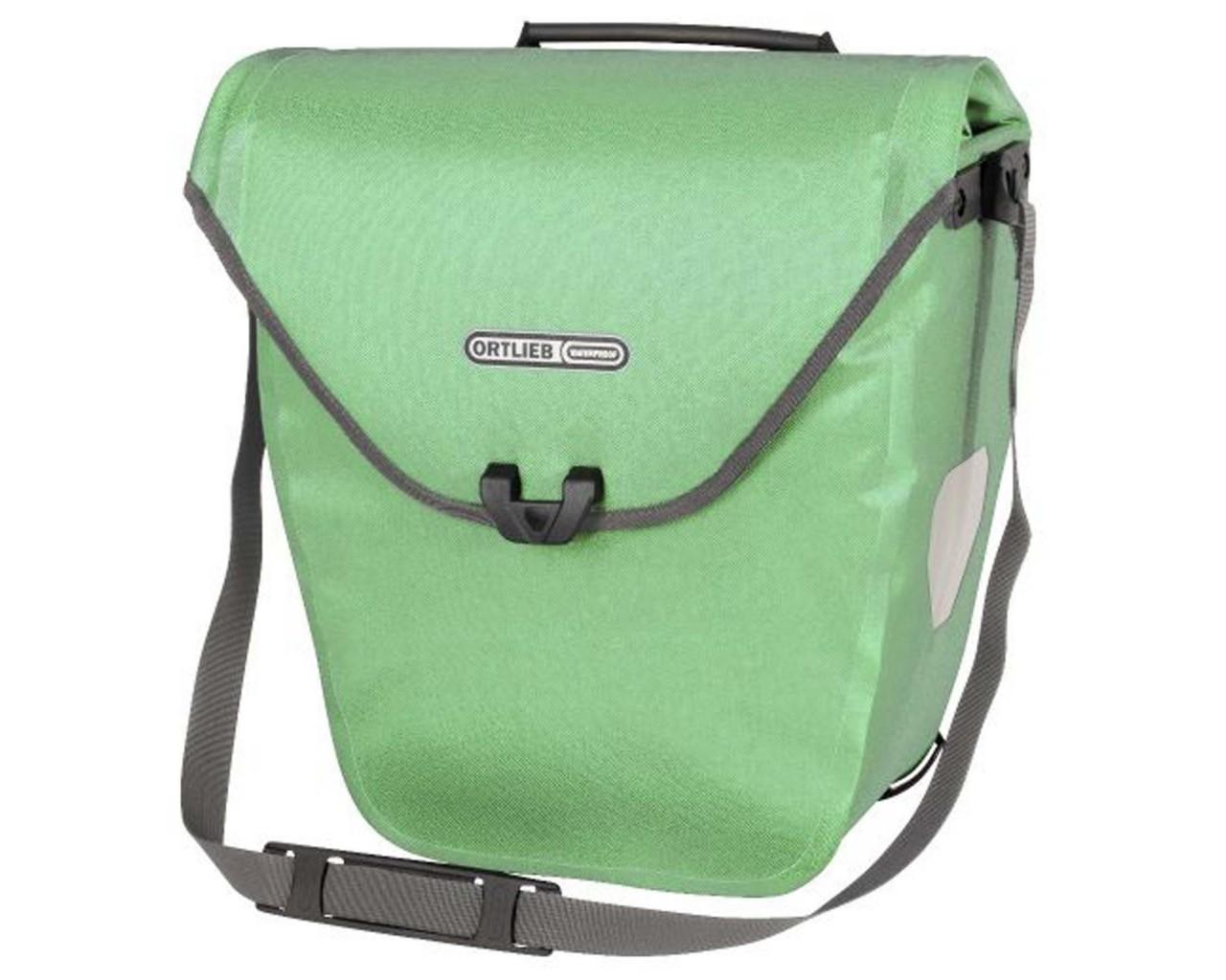 Ortlieb Velo-Shopper 18 litres QL2.1 waterproof Bicycle bag (single bag) PVC free   pistacchio